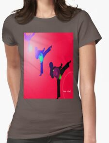 Just kicked in 2 Womens Fitted T-Shirt