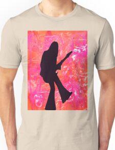 Rock hard (pink) Unisex T-Shirt