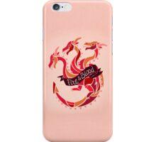 Fire & Blood  iPhone Case/Skin