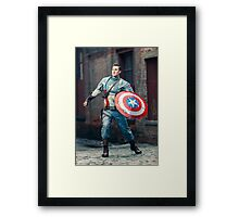 Captain Mulligan (Photography by Sean William / Dragon Ink Photography) Framed Print