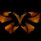 Wooden Butterfly by Elisabeth and Barry King™ by BE2gether