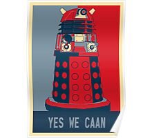 Dr Who - Yes We Caan Poster