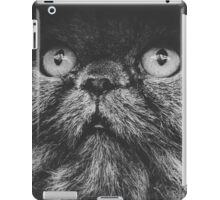Cat gray gradient iPad Case/Skin