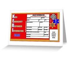 The KERI card Greeting Card