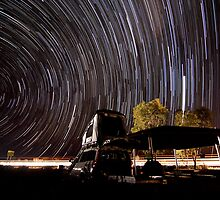 Territory Camp Under Stars by Grant Salmond