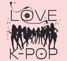 LOVE K-POP MUSIC T-Shirt
