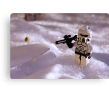 Snow Trooper Canvas Print