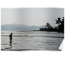 Through Water Poster