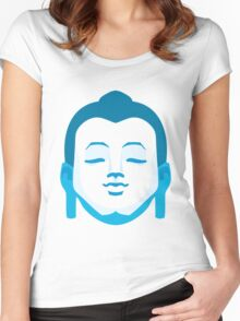 Calming Buddha Women's Fitted Scoop T-Shirt