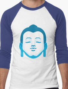 Calming Buddha Men's Baseball ¾ T-Shirt