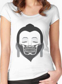 Gansta Buddha Women's Fitted Scoop T-Shirt