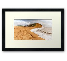 Jurassic Coast, Bridport, United Kingdom Framed Print