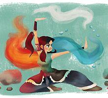 Legend of Korra by Hedif