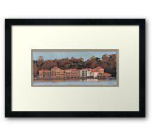 Swan Brewery Framed Print