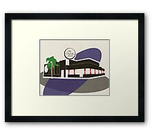 The Comedy Store Framed Print