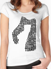 Road America Women's Fitted Scoop T-Shirt