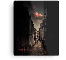 Red cloud in Paris (France) Metal Print