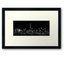 The Eiffel Tower in Paris (France) Framed Print