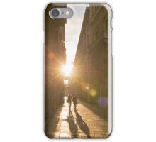 Famous fashion shopping street iPhone Case/Skin