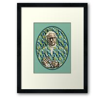 Raymond Douglas Bradbury Framed Print