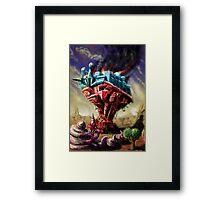 Assassin Blob Framed Print