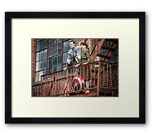 Agent Tanya Wheelock and Captain Mulligan (Photography by Sean William / Dragon Ink Photography) Framed Print