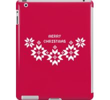 Festlig- Merry Christmas iPad Case/Skin