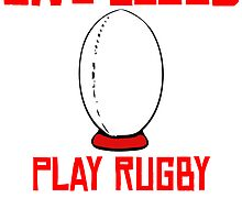 Give Blood Play Rugby by kwg2200