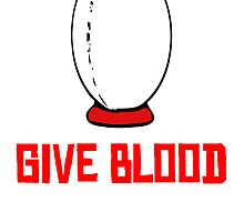 Give Blood (Rugby) by kwg2200