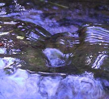 Babbling water nature photography by VibrantDesigns
