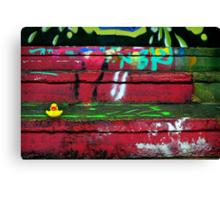 Graffiti SplashDown Canvas Print