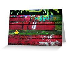 Graffiti SplashDown Greeting Card