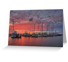 Texas Coast Images - Rockport, Texas, Boats 3 Greeting Card