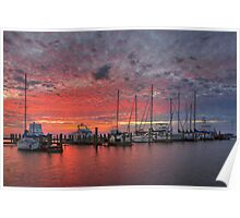 Texas Coast Images - Rockport, Texas, Boats 3 Poster