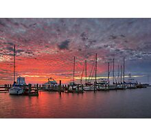Texas Coast Images - Rockport, Texas, Boats 3 Photographic Print