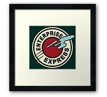 E EXPRESS Framed Print