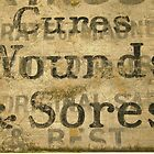 Cures Wounds & Sores, Sidmouth Street, London by Ghostsigns