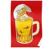 Beer Wave Poster
