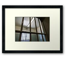 Some people see a ceiling, others see a dream Framed Print