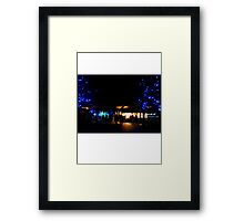 The Lights of London // LONDON COLLECTION Framed Print