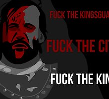 Sandor 'The Hound' Clegane - Game of Thrones by SangreSani