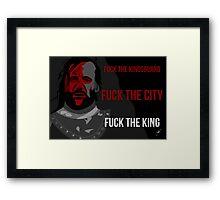 Sandor 'The Hound' Clegane - Game of Thrones Framed Print
