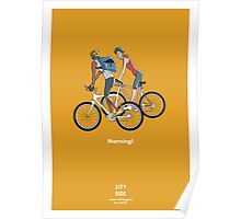 City Ride - Morning Poster
