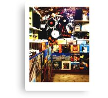 The Record Store // LONDON COLLECTION  Canvas Print