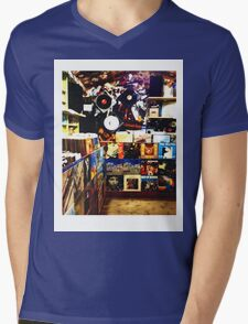 The Record Store // LONDON COLLECTION  Mens V-Neck T-Shirt