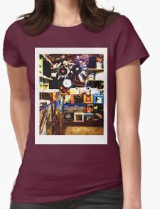 The Record Store // LONDON COLLECTION  Womens Fitted T-Shirt