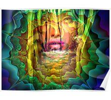 River Goddess Poster