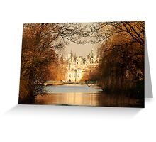 St James Park In Autumn Greeting Card