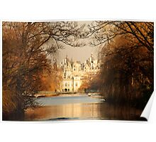 St James Park In Autumn Poster