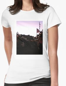 Lights Will Guide You Home // LONDON COLLECTION Womens Fitted T-Shirt